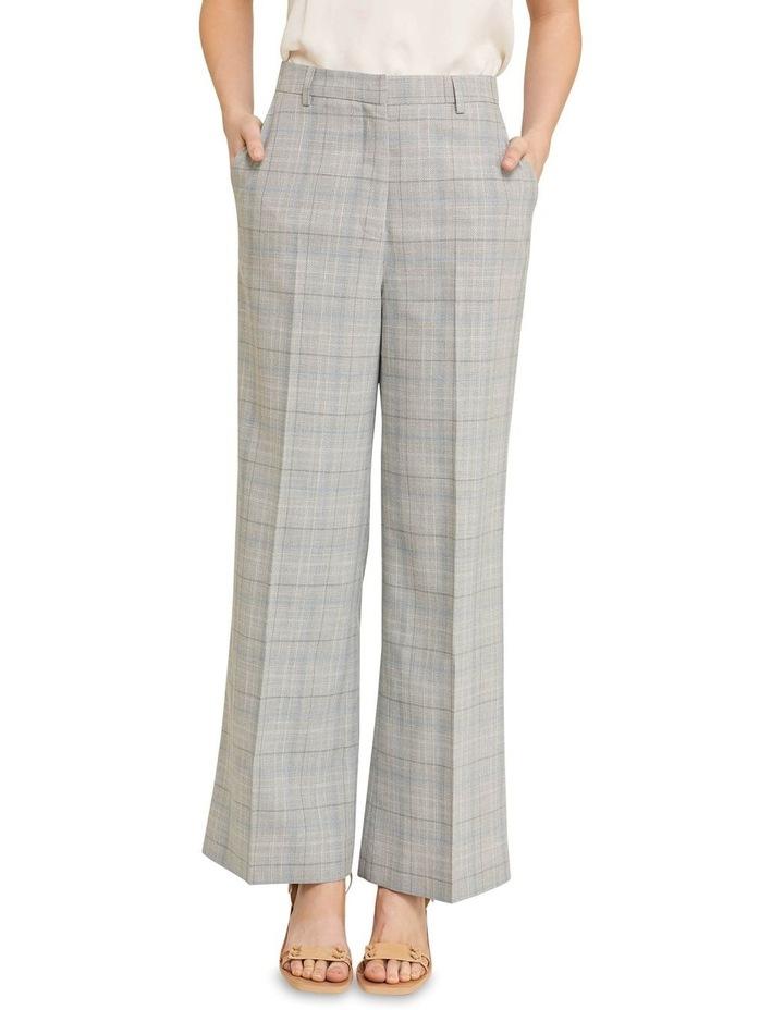 Lauren Eco Check Suit Trousers image 1