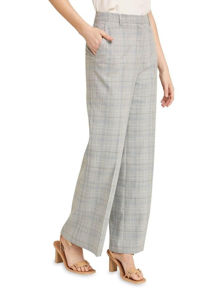 Lauren Eco Check Suit Trousers image 2