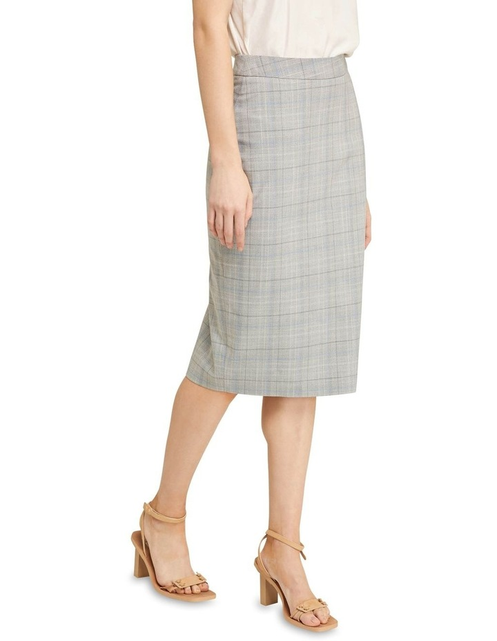 Peggy Eco Check Suit Skirt image 2