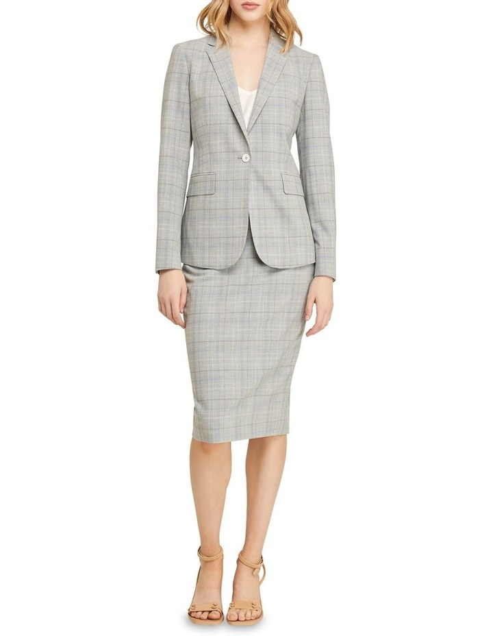 Peggy Eco Check Suit Skirt image 5