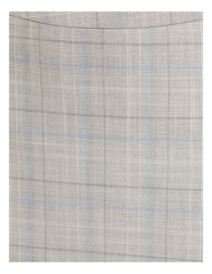 Peggy Eco Check Suit Skirt image 6