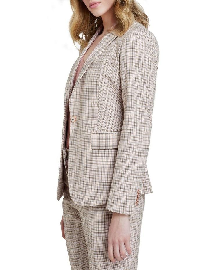 Alexa Eco Check Suit Jacket image 2