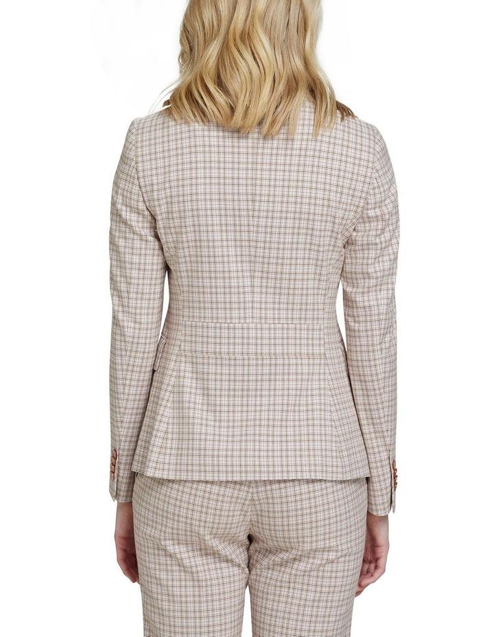 Alexa Eco Check Suit Jacket image 3