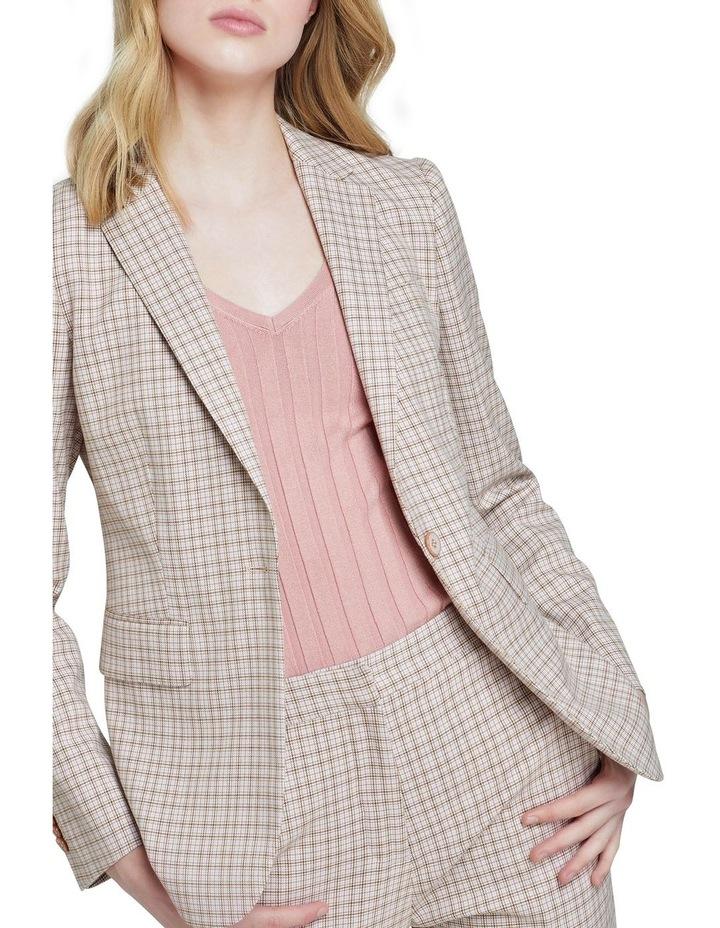 Alexa Eco Check Suit Jacket image 4