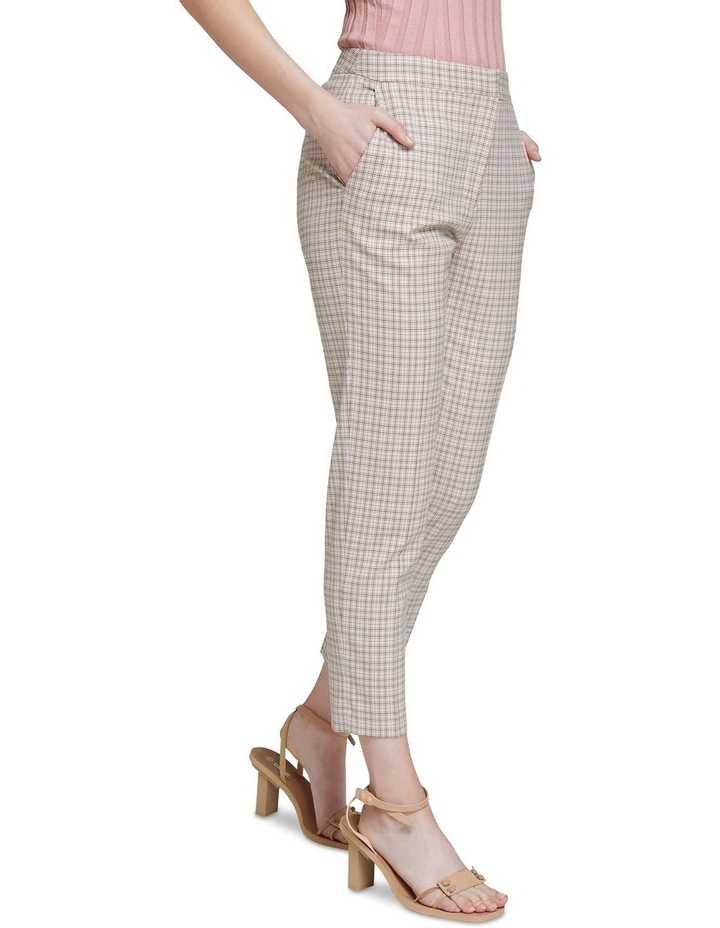Charla Eco Check Suit Trousers image 2