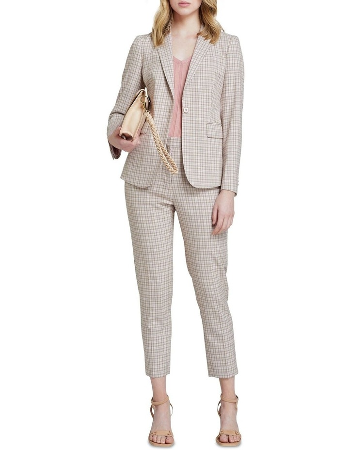 Charla Eco Check Suit Trousers image 5