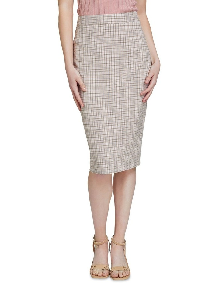 Peggy Eco Check Suit Skirt image 1
