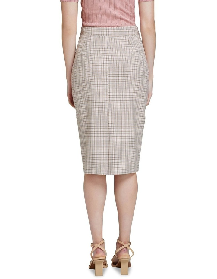 Peggy Eco Check Suit Skirt image 3