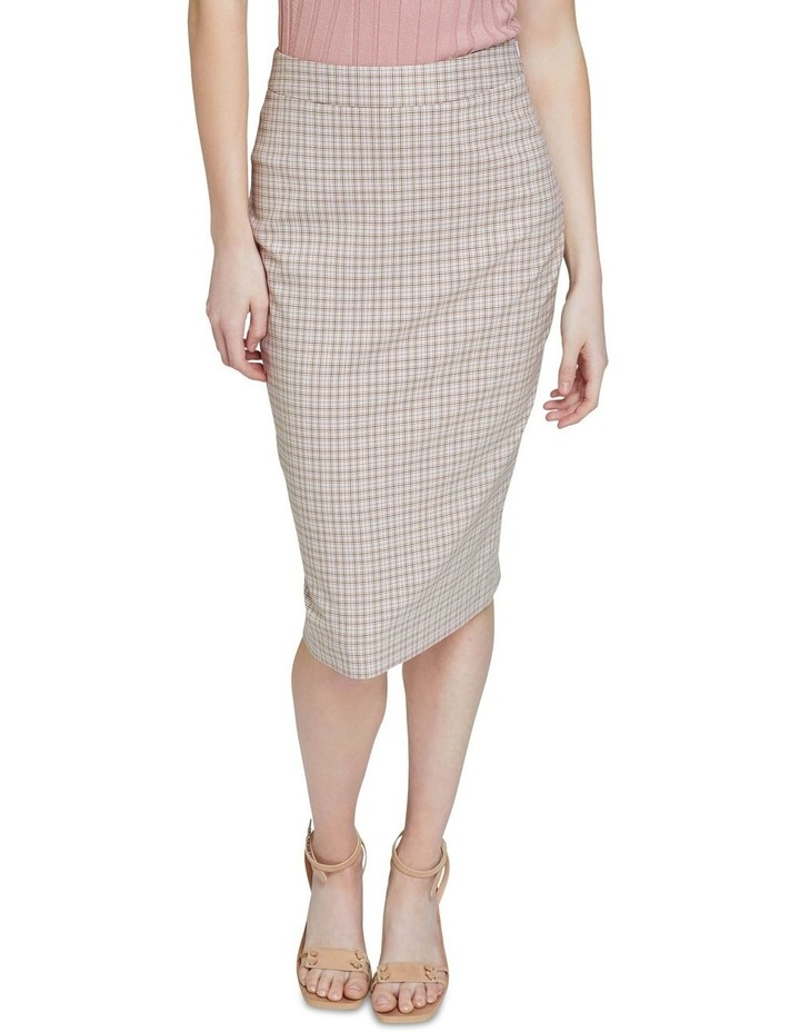 Peggy Eco Check Suit Skirt image 4