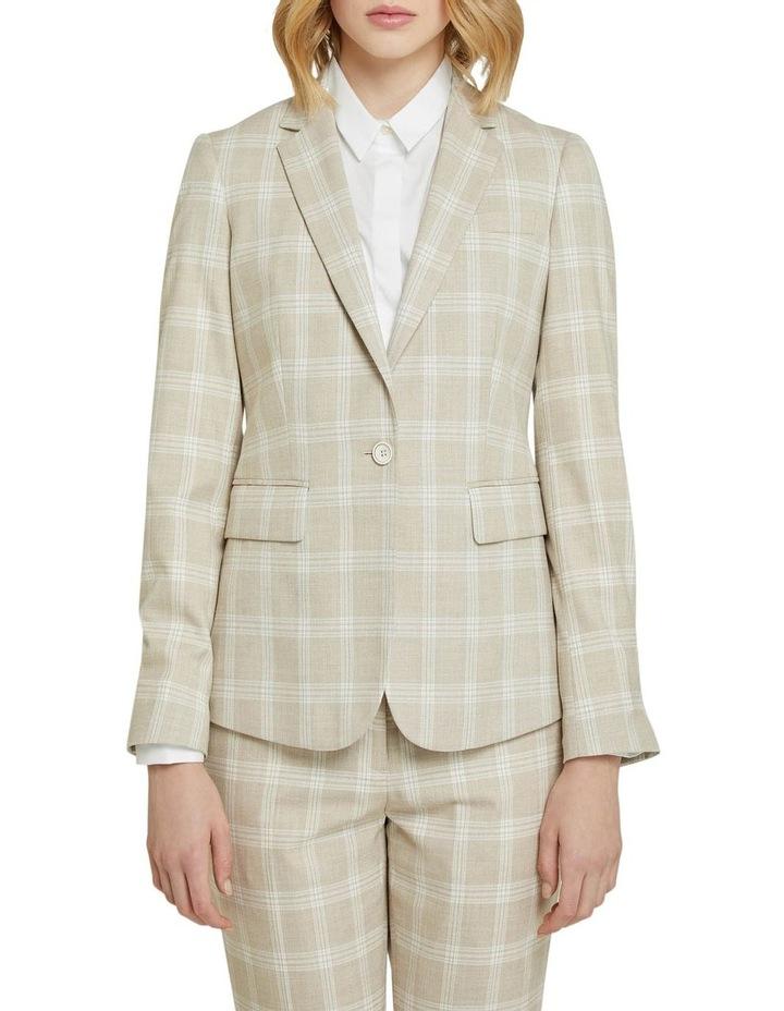 Alexa Check Suit Jacket image 1