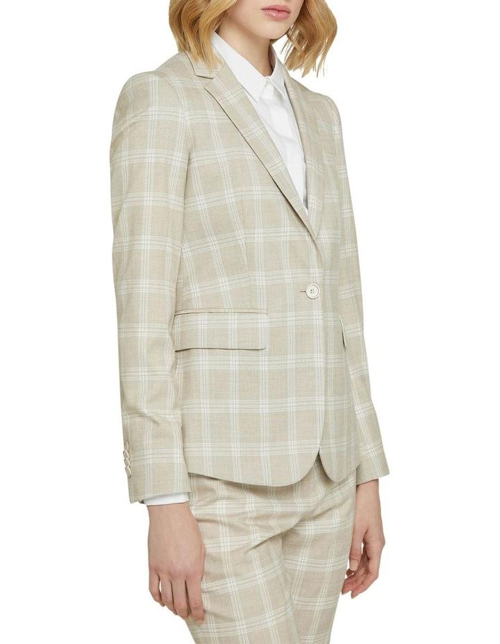 Alexa Check Suit Jacket image 2
