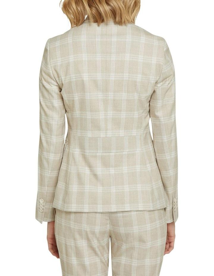 Alexa Check Suit Jacket image 3