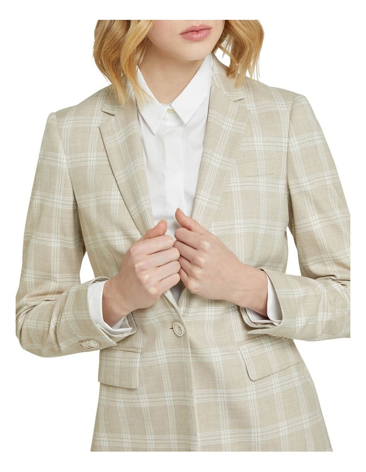 Alexa Check Suit Jacket image 4