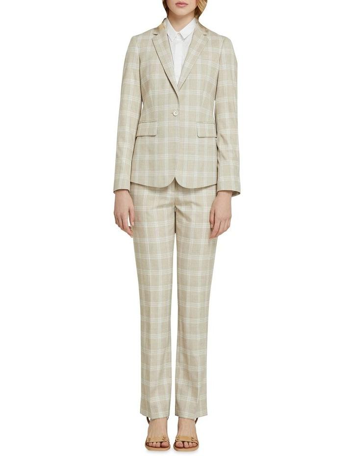 Alexa Check Suit Jacket image 5