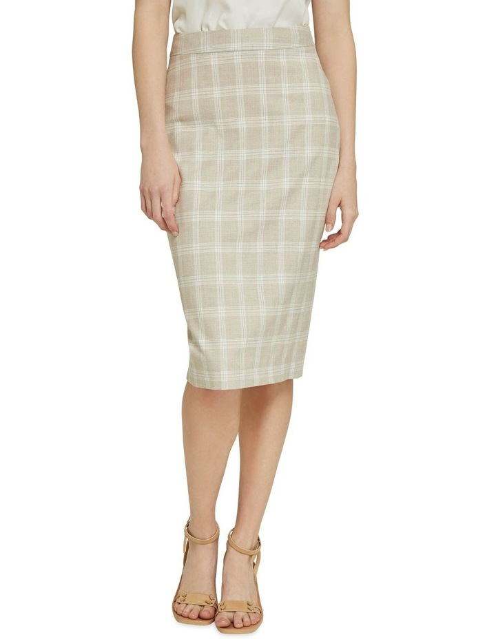 Peggy Check Suit Skirt image 1
