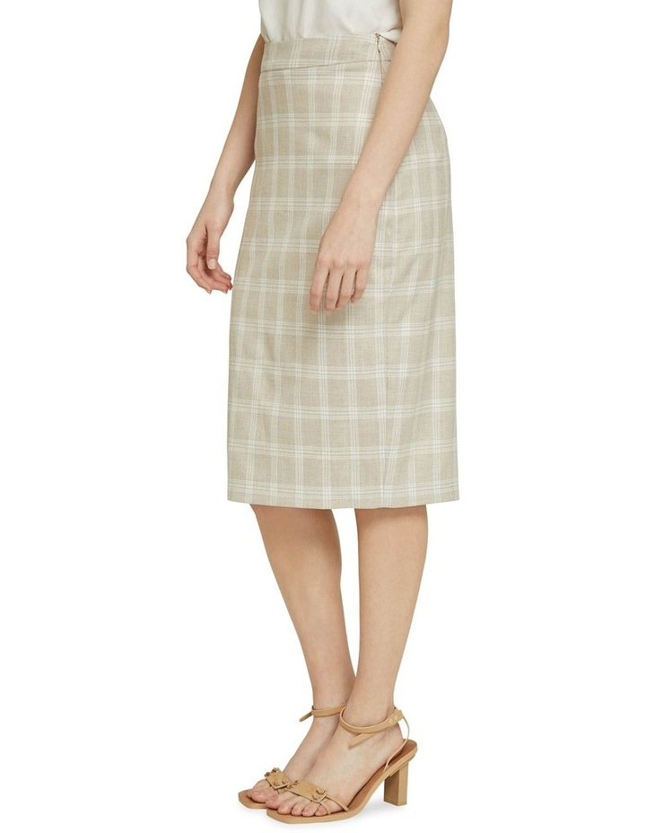 Peggy Check Suit Skirt image 2