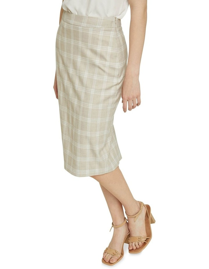 Peggy Check Suit Skirt image 4