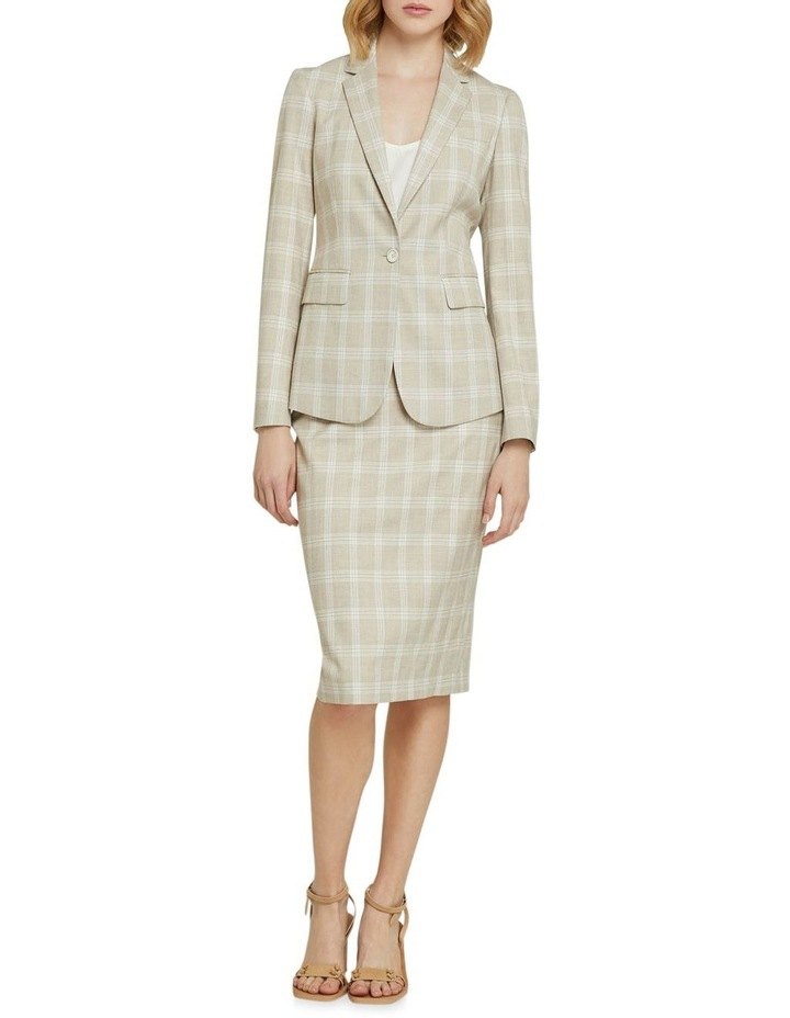 Peggy Check Suit Skirt image 5