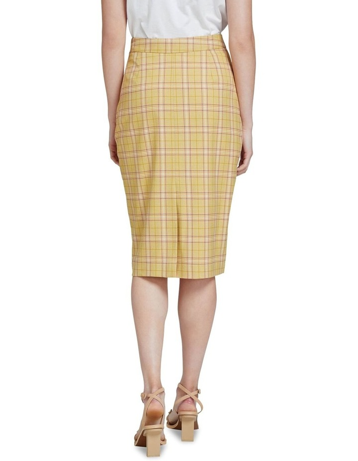Peggy Check Eco Skirt image 3