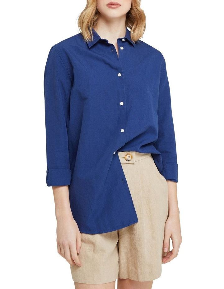 Eva Linen Cotton Shirt image 1