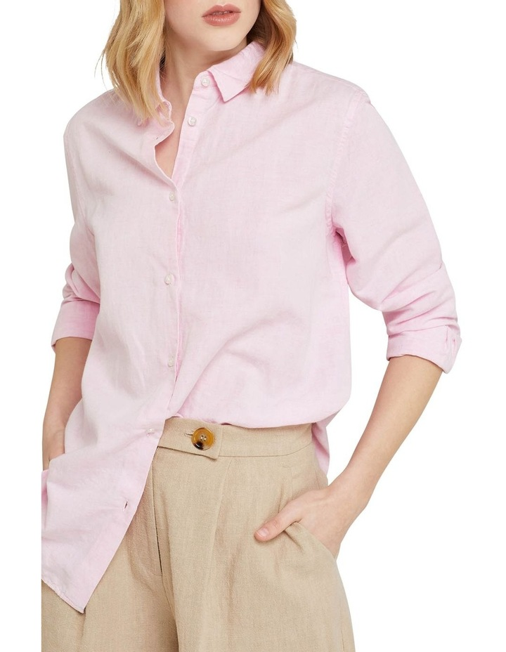 Eva Linen Cotton Shirt image 4