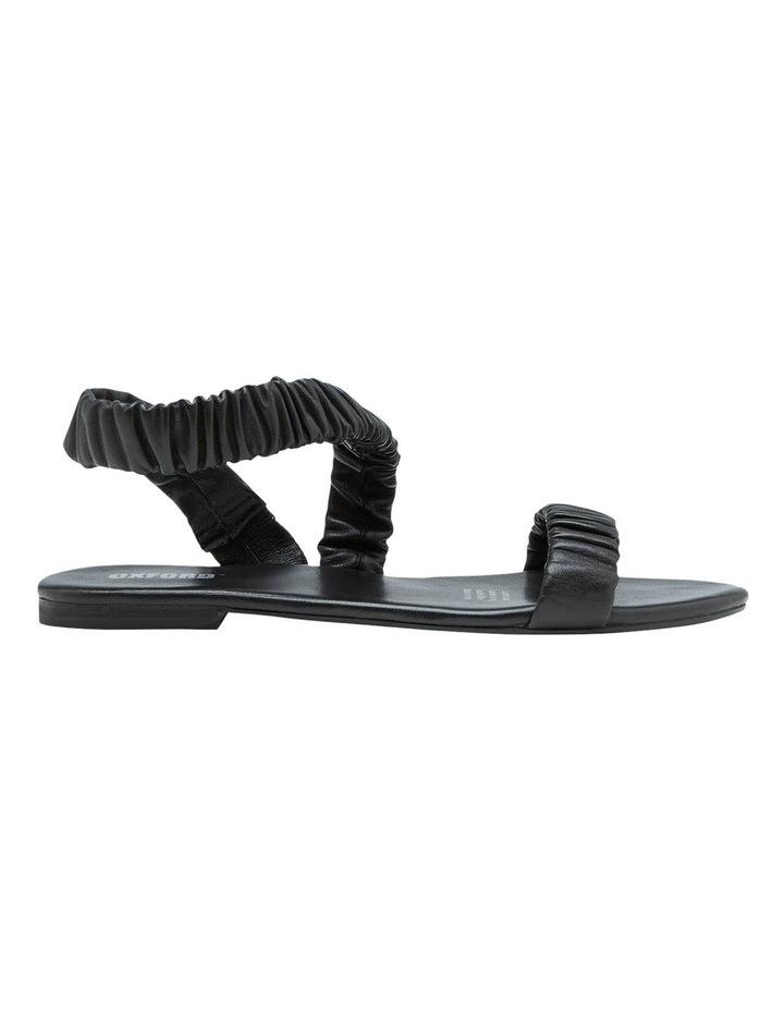 Lyla Leather Scruntchy Sandal image 1