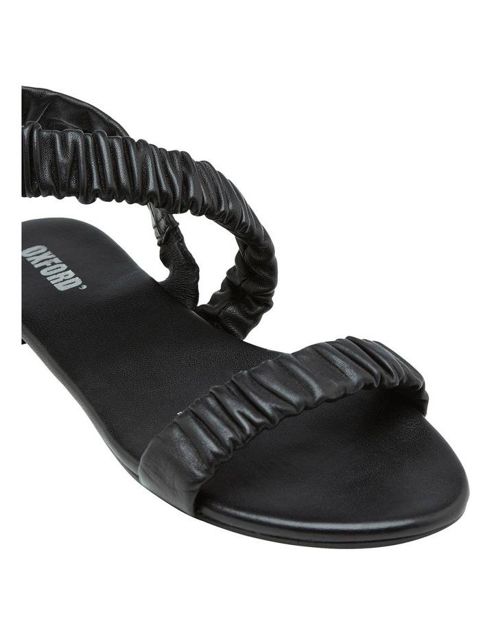 Lyla Leather Scruntchy Sandal image 4