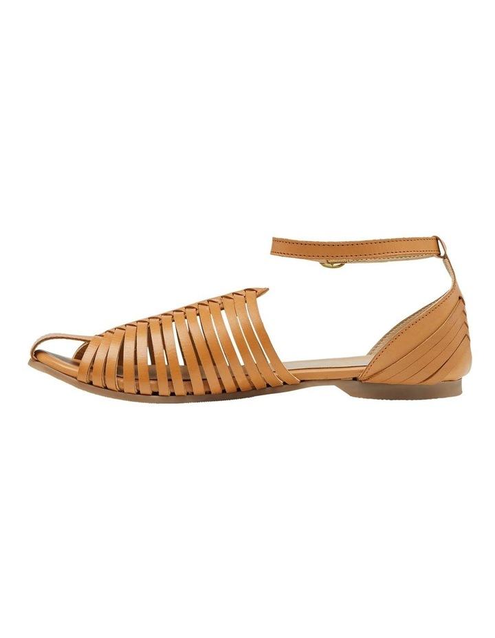 Albina Woven Leather Sandal image 1