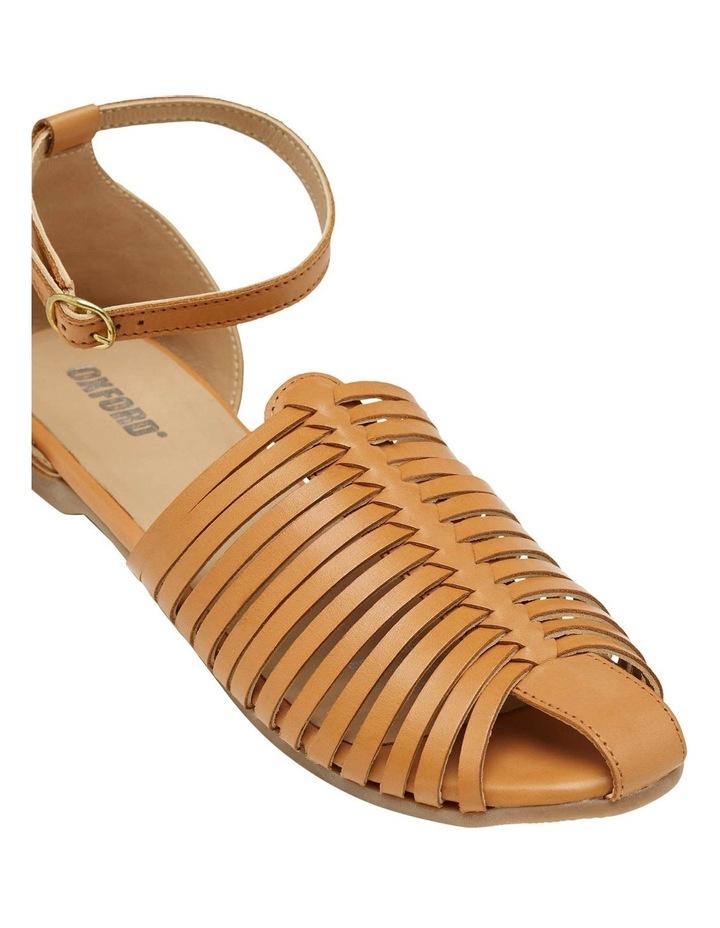 Albina Woven Leather Sandal image 3