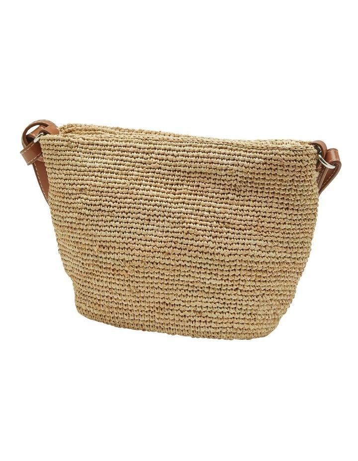 Laurel Hand Knotted Straw Bag image 2