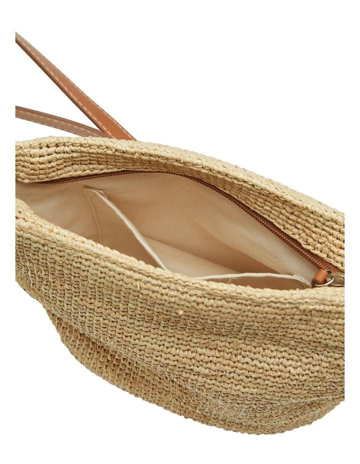Laurel Hand Knotted Straw Bag image 3