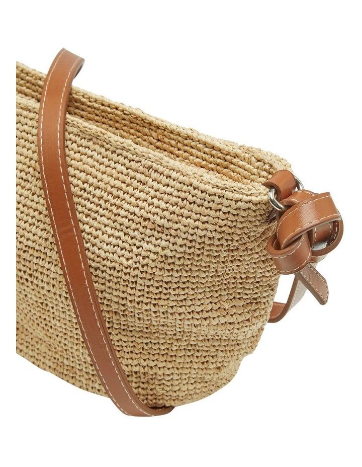 Laurel Hand Knotted Straw Bag image 4