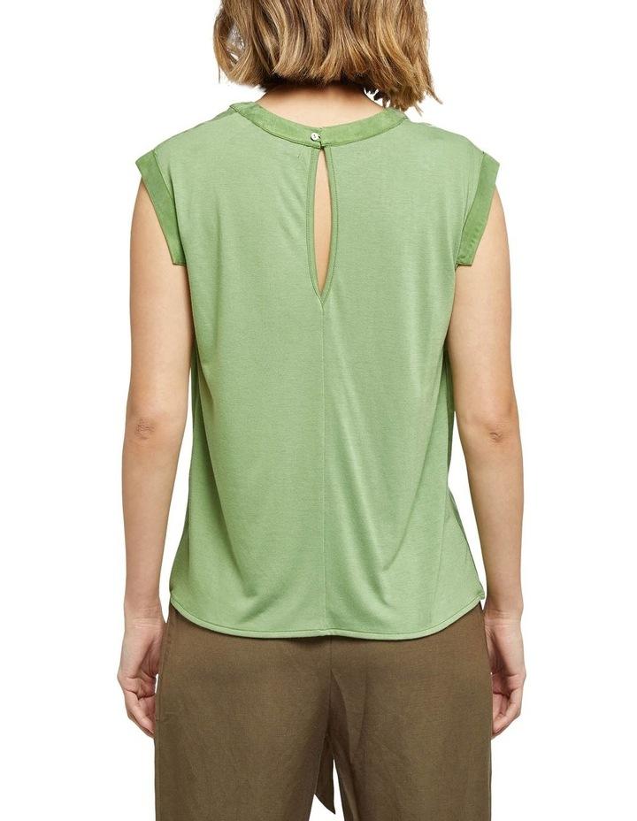 Skylar Woven Front T-shirt image 3