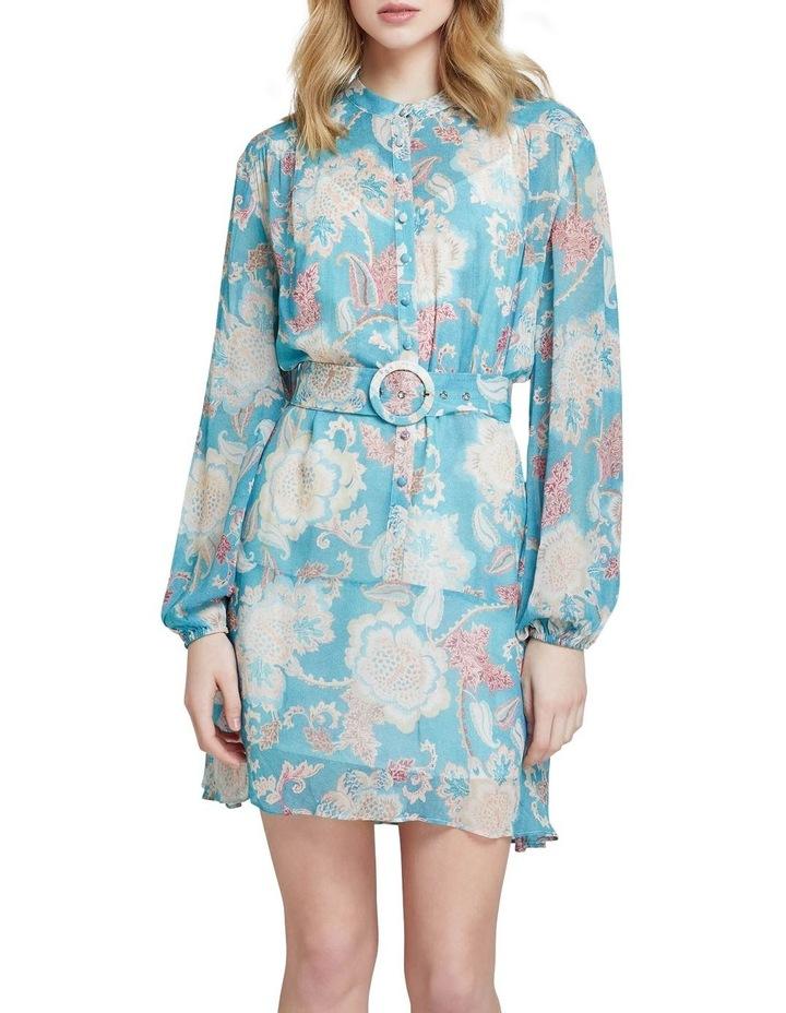 Birkeland Green Floral Dress image 1