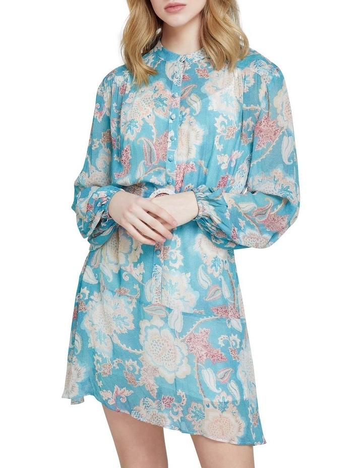 Birkeland Green Floral Dress image 4