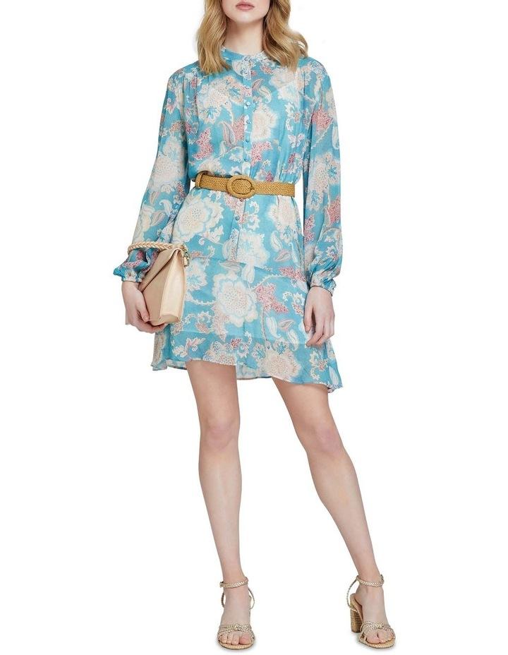 Birkeland Green Floral Dress image 5