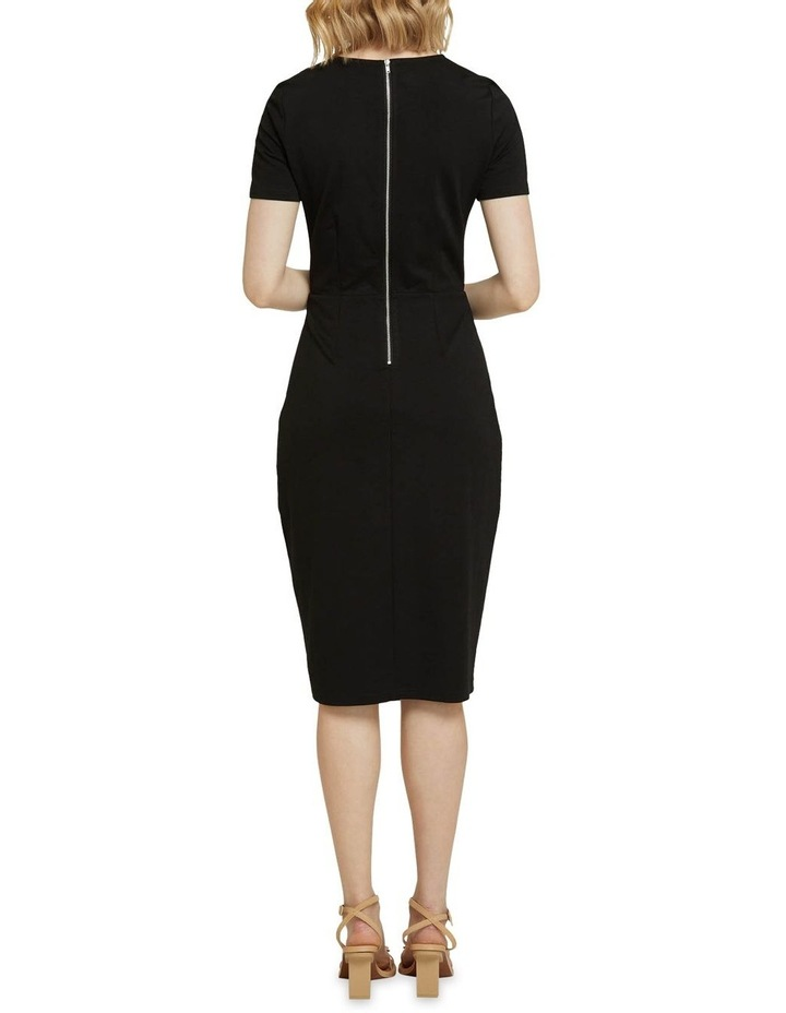Kim Stud Detail Ponti Dress image 3