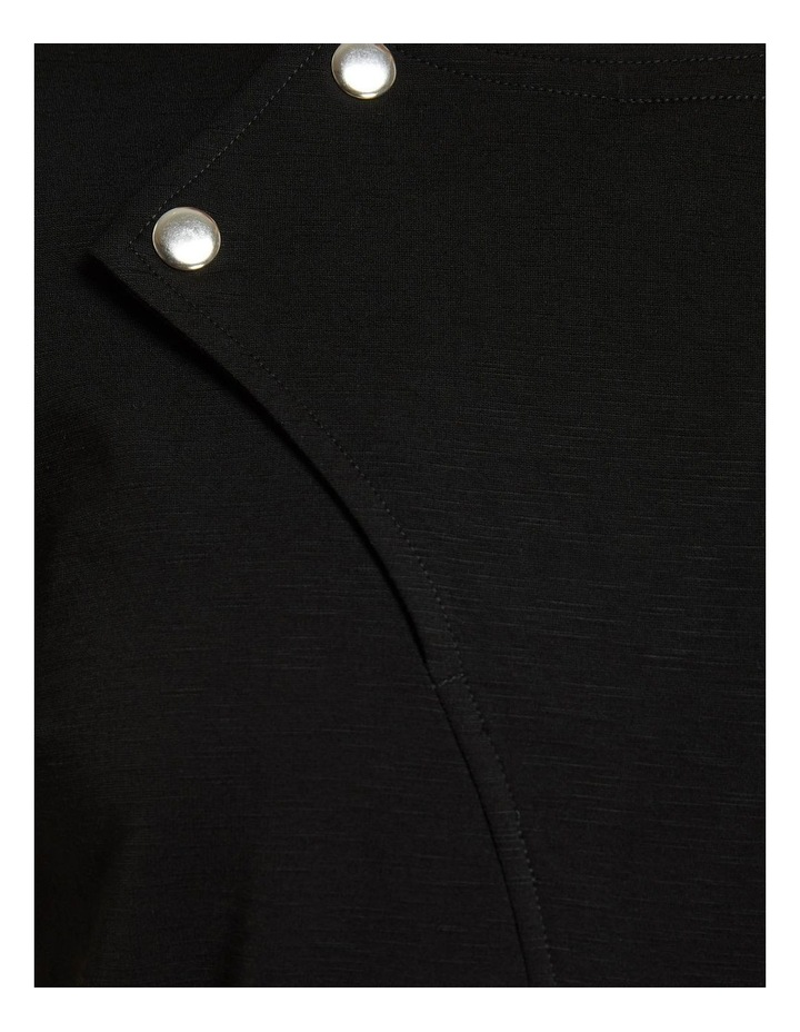 Kim Stud Detail Ponti Dress image 6