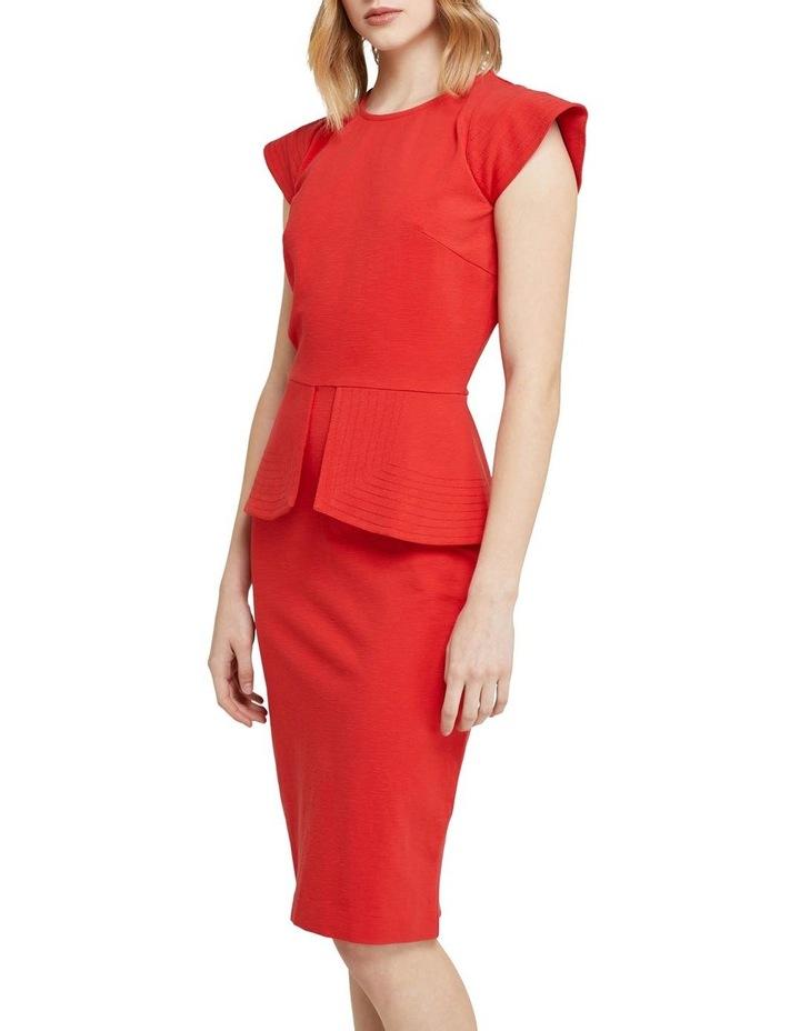Bella Peplum Ponti Dress image 2