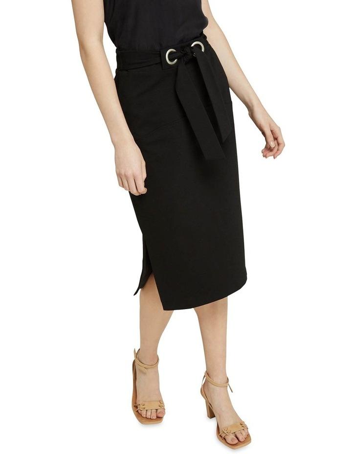 Giselle Eyelet Detail Ponti Skirt image 4