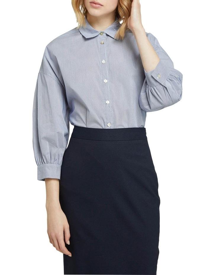 Lara Striped Cotton Shirt image 1