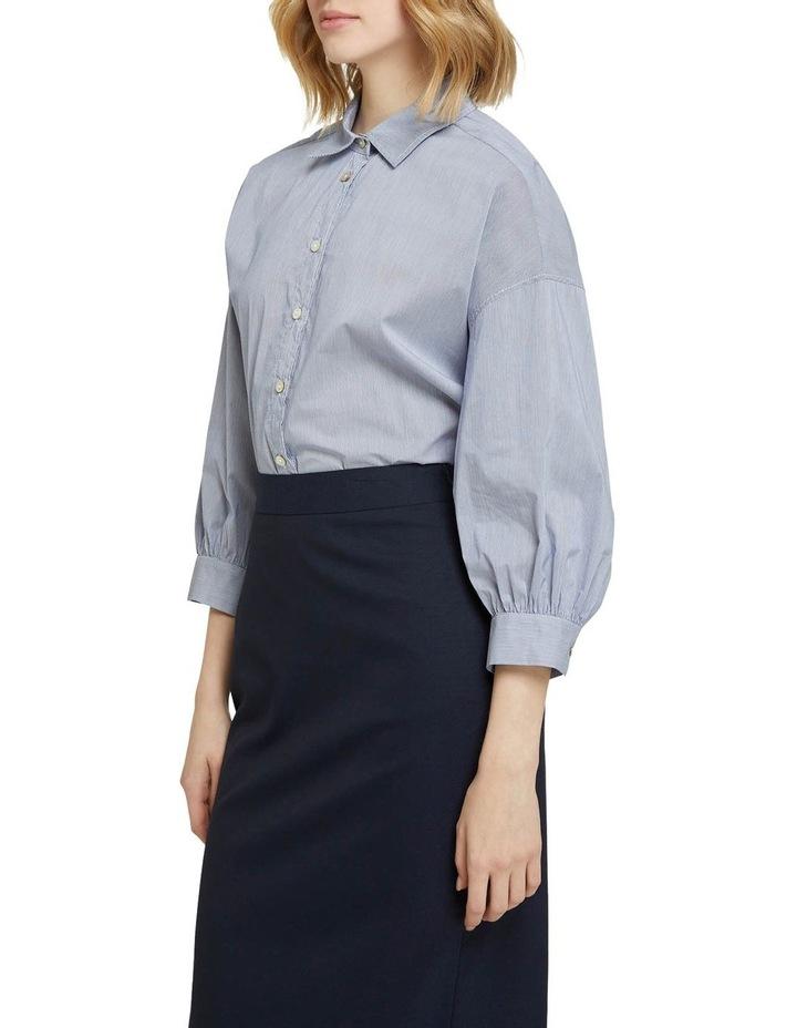 Lara Striped Cotton Shirt image 2