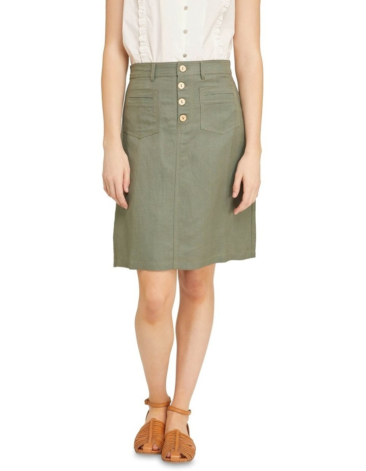 Tito Button Front Skirt image 1
