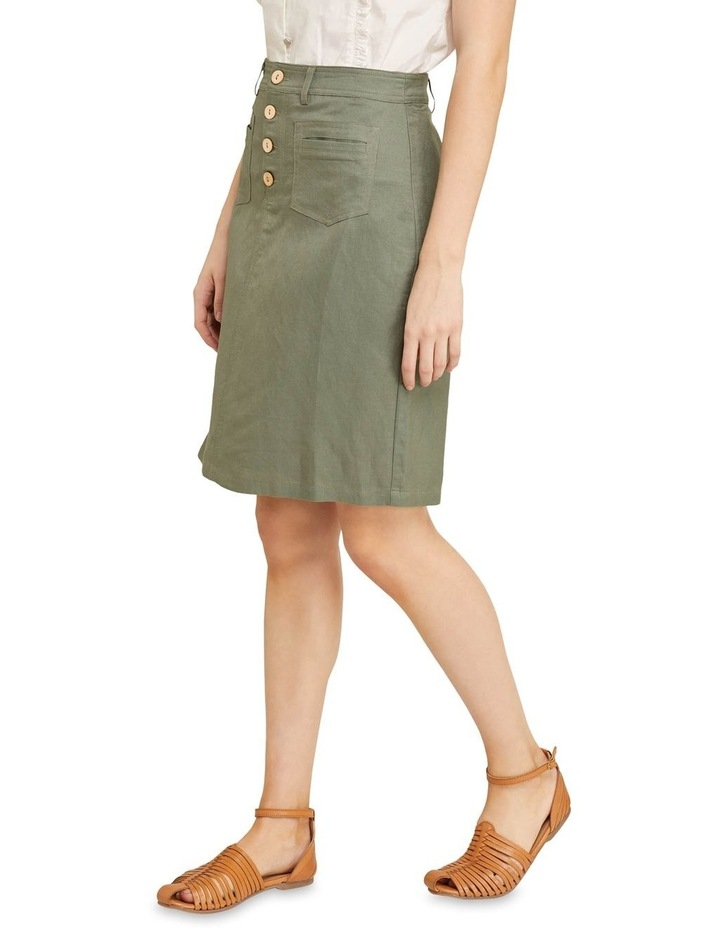 Tito Button Front Skirt image 2