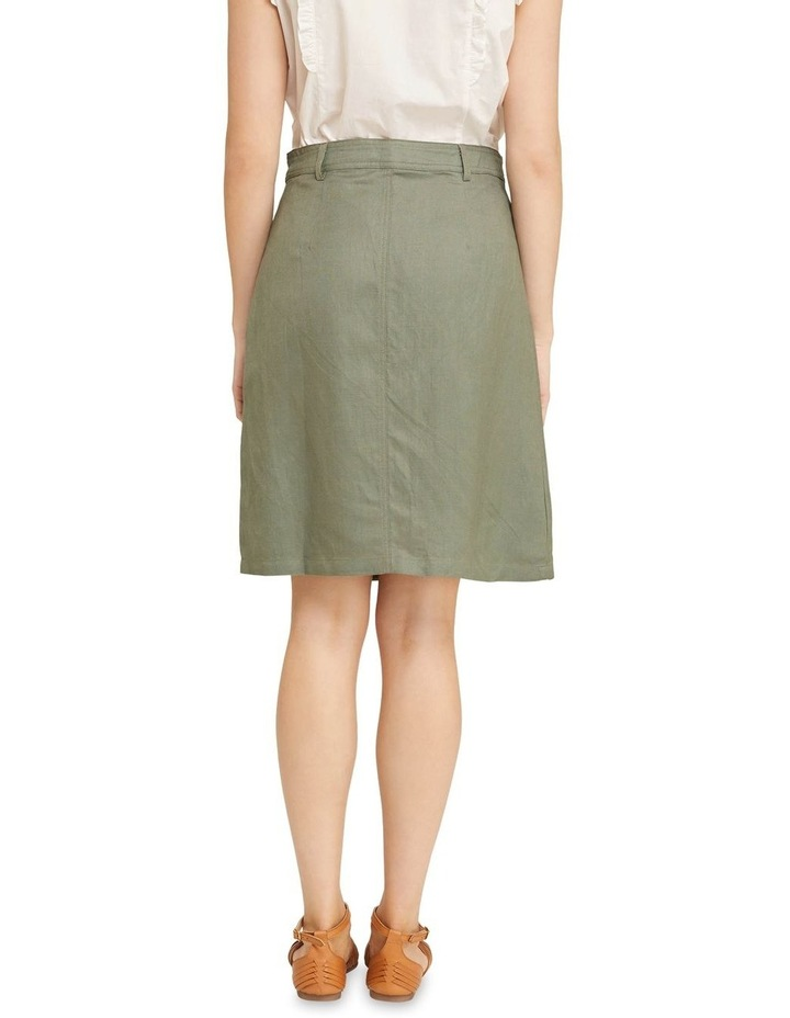 Tito Button Front Skirt image 3