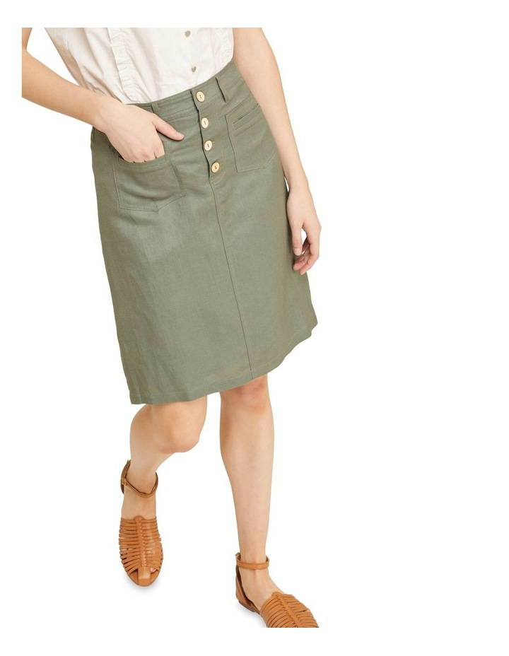 Tito Button Front Skirt image 4