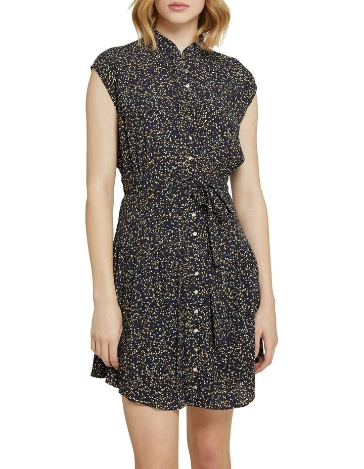 Cassie Black Confetti Dress image 1