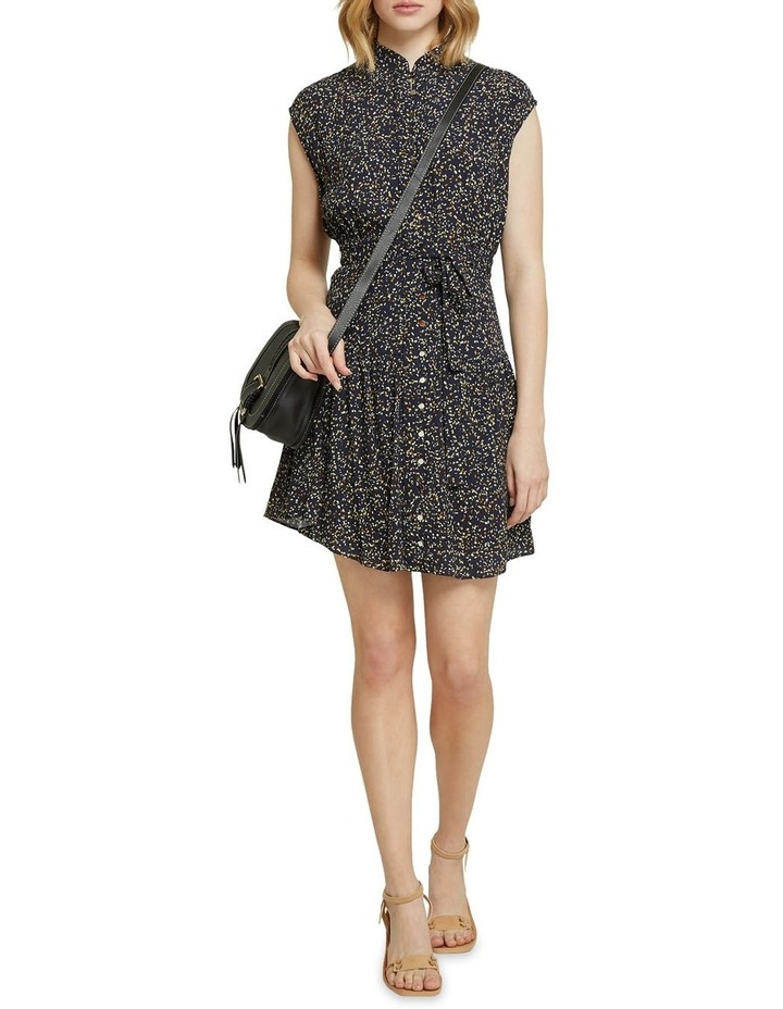 Cassie Black Confetti Dress image 5