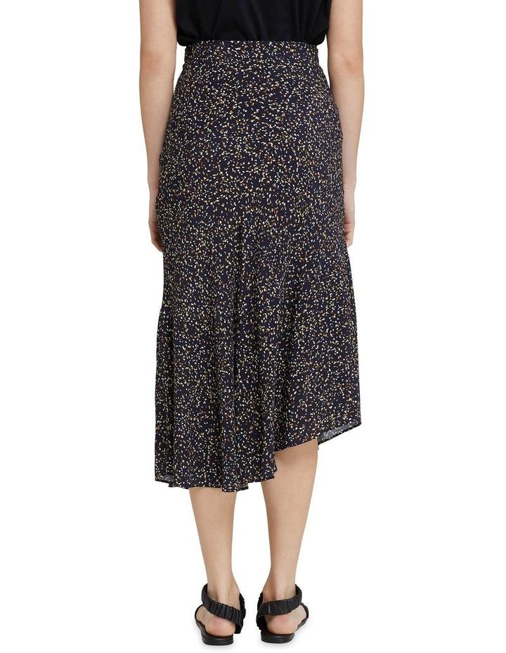 Mindi Black Confetti Midi Skirt image 3