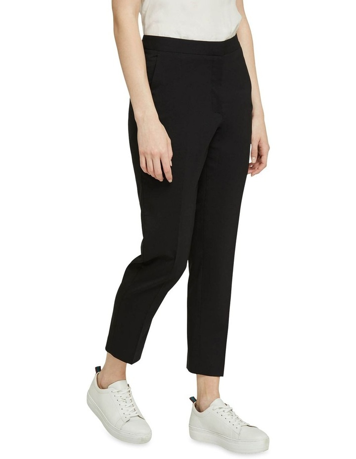 Charla Black Wool Stretch Suit Pants image 2